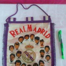 Coleccionismo deportivo: BANDERIN FUTBOL REAL MADRID. Lote 36551744
