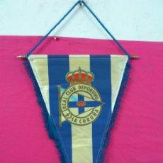 Coleccionismo deportivo: BANDERIN FUTBOL REAL CLUB DEPORTIVO LA CORUÑA. Lote 36553937