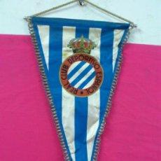 Coleccionismo deportivo: BANDERIN FUTBOL REAL CLUB DEPORTIVO ESPAÑOL. Lote 36553972
