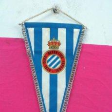 Coleccionismo deportivo: BANDERIN FUTBOL REAL CLUB DEPORTIVO ESPAÑOL. Lote 36554118