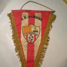 Coleccionismo deportivo: BANDERIN DE U.D.VILASSAR.. Lote 36666758