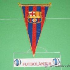 Coleccionismo deportivo: :BANDERIN DE FUTBOL DEL F.C.BARCELONA. Lote 36669242