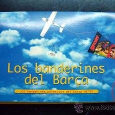 Coleccionismo deportivo: PEGATINA ADHESIVO, BANDERIN, BANDERINES DEL BARÇA 1998-99, FUTBOL BARCELONA, 24 BANDERINES, COMPLETA. Lote 36774022