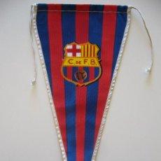 Coleccionismo deportivo: BANDERÍN ANTIGUO DEL CLUB DE FUTBOL BARCELONA. Lote 37052271