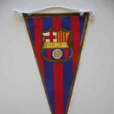Coleccionismo deportivo: BANDERÍN ANTIGUO DEL CLUB DE FUTBOL BARCELONA. Lote 37052302