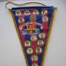 Coleccionismo deportivo: BANDERÍN ANTIGUO DEL FUTBOL CLUB BARCELONA. Lote 37052402