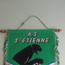 Coleccionismo deportivo: BANDERIN A.S. ST ETIENNE. 1975-1976 COUPE DE FRANCE COUPE D´EUROPE CHAMPIONNNAT DE FRANCE. Lote 37794186