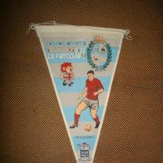 Coleccionismo deportivo: BANDERIN COPA DEL MUNDO DE FUTBOL. INGLATERRA. 1966. EQUIPO URUGUAY. GENTILEZA DE GIOR.. Lote 38683968