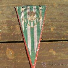 Coleccionismo deportivo: BANDERÍN REAL BETIS BALOMPIÉ ANTIGUO 1940-1957. Lote 38684441