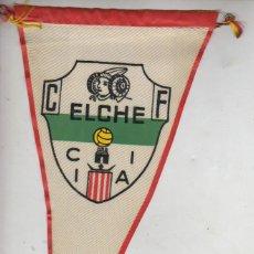 Coleccionismo deportivo: BUEN BANDERIN FUTBOL - AÑOS 60 - ELCHE C.F. -OBSEQUIO CARAMELOS KIKI,S IBERICA . Lote 39948441