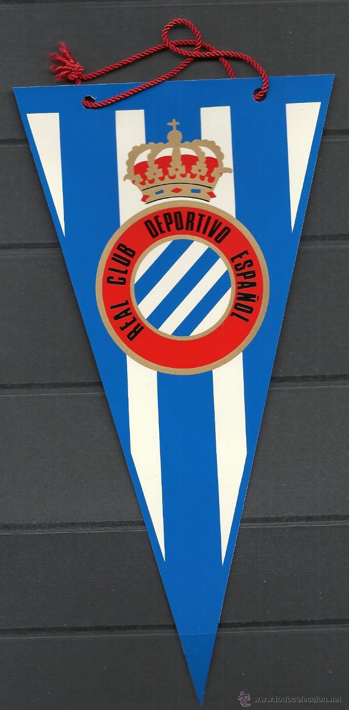 precioso banderin del r.c.d. español de barcelo - Comprar Banderas y ... 37340c70d57
