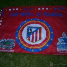 Collectionnisme sportif: BANDERA CLUB ATLETICO DE MADRID.PRODUCTO OFICIAL.1,25X98CM.. Lote 40391731