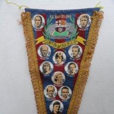 Coleccionismo deportivo: BANDERIN F.C.B. CAMPEÓN DE LIGA 73-74.. Lote 40631327