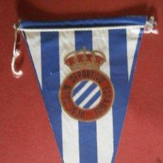 Coleccionismo deportivo: BANDERIN DEL REAL CLUB DEPORTIVO ESPAÑOL. Lote 40649849