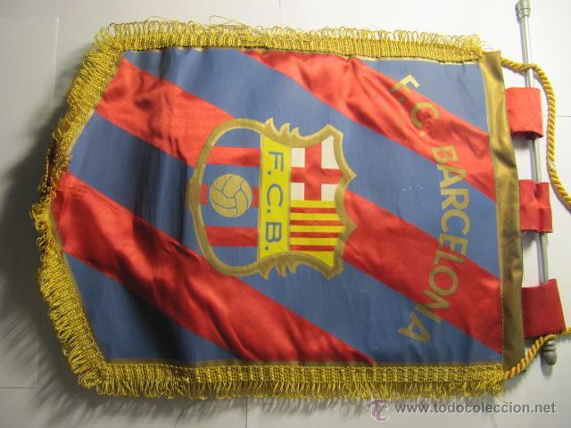 BANDERIN DEL FC BARCELONA (Coleccionismo Deportivo - Banderas y Banderines de Fútbol)
