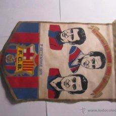 Coleccionismo deportivo: BANDERIN DEL FC BARCELONA RIFE, SADURNI I TORRES. Lote 41107060