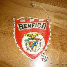 Coleccionismo deportivo: BANDERIN BENFICA AÑOS 70 FUTBOL. Lote 41279669