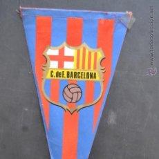 Coleccionismo deportivo: BANDERIN DEL FUTBOL CLUB BARCELONA. BARÇA. Lote 41396758