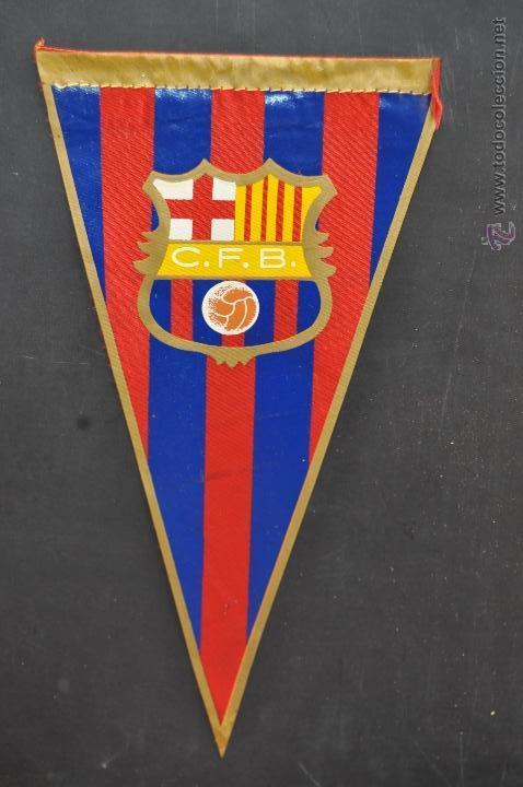 BANDERIN DEL FUTBOL CLUB BARCELONA. BARÇA (Coleccionismo Deportivo - Banderas y Banderines de Fútbol)