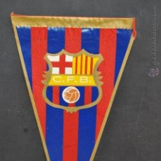 Coleccionismo deportivo: BANDERIN DEL FUTBOL CLUB BARCELONA. BARÇA. Lote 41396811