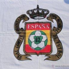Coleccionismo deportivo: ESCUDO REAL COMITE ORGANIZADOR COPA MUNDIAL DE FUTBOL 82 , ELCHE . Lote 42418965