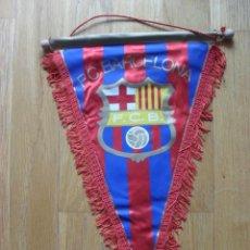 Coleccionismo deportivo: BANDERIN FUTBOL CLUB BARCELONA. Lote 42626518