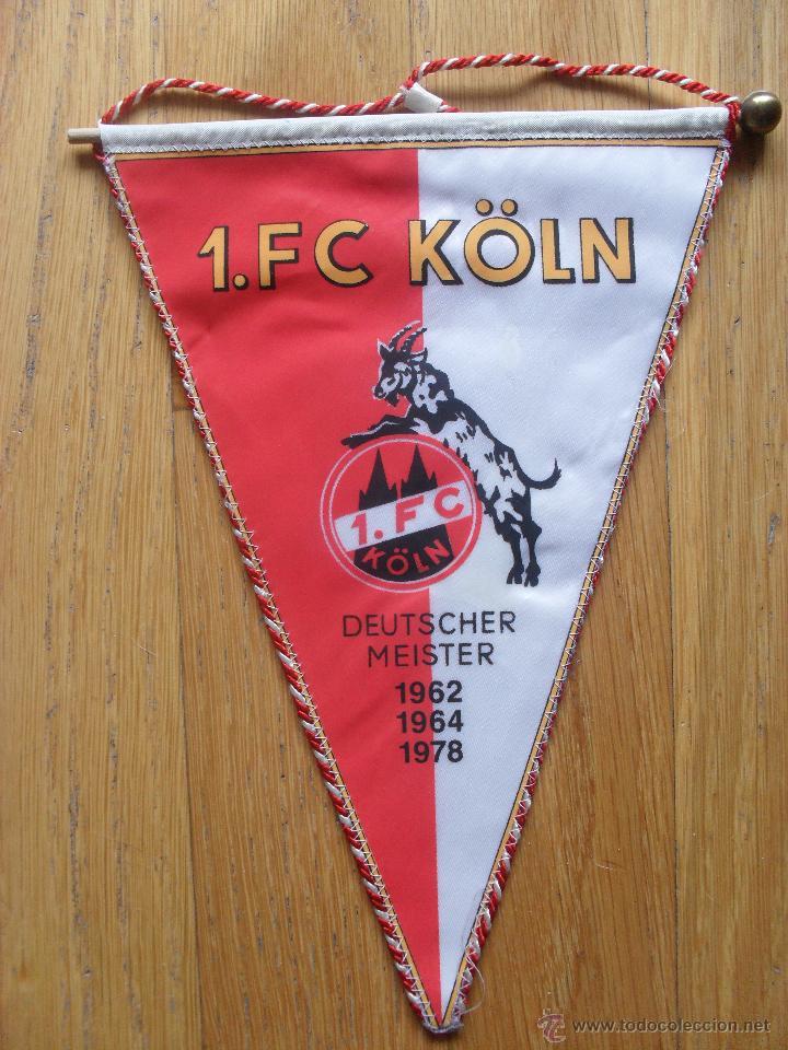 Coleccionismo deportivo: BANDERIN FC KOLN, - Foto 3 - 42628730