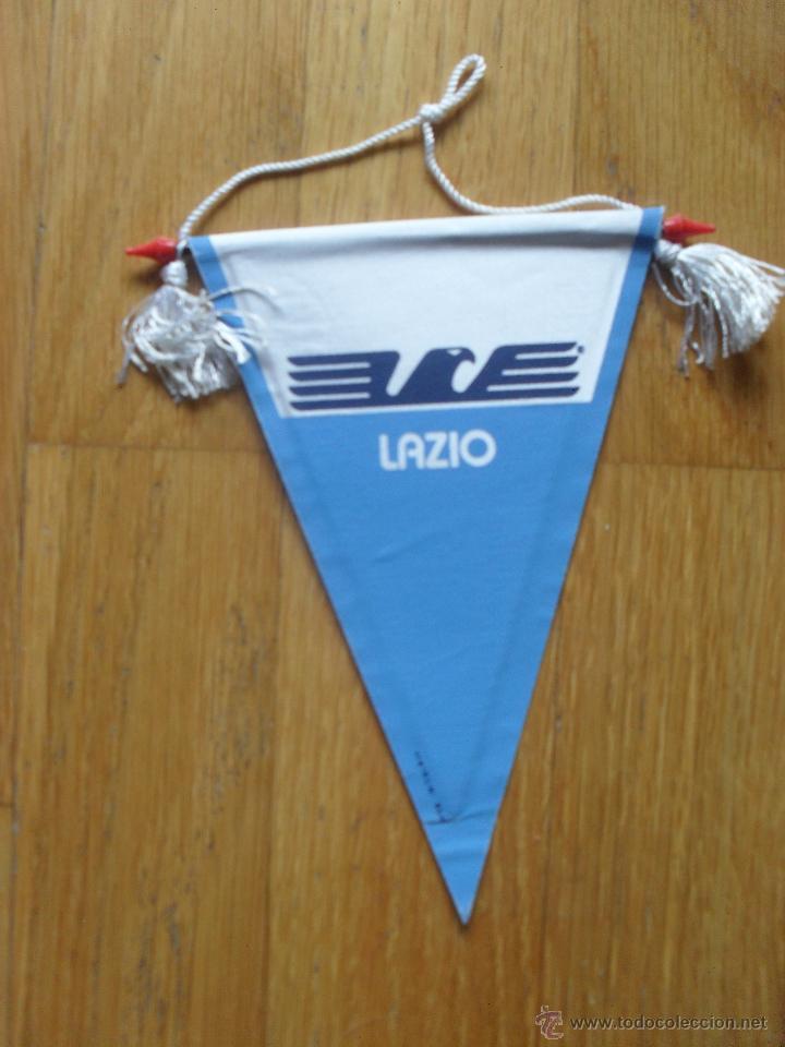 BANDERIN LAZIO (Coleccionismo Deportivo - Banderas y Banderines de Fútbol)