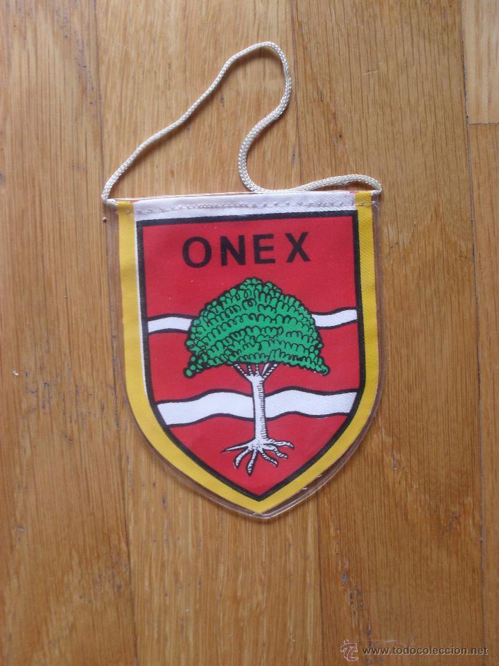 Coleccionismo deportivo: PEQUEÑO BANDERIN FC, ONEX, Años 70 . 80 - Foto 2 - 42629591