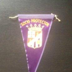 Coleccionismo deportivo: BANDERIN SOCIO PROTECTOR PALENCIA CLUB DE FUTBOL - ANTIGUO. Lote 43119029