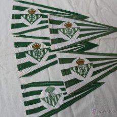 Coleccionismo deportivo: BANDERINES ANTIGUOS DEL BETIS. Lote 43861835