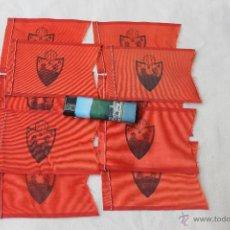 Coleccionismo deportivo: 10 BANDERINES FUTBOL CLUB DEPORTIVO ORENSE ANTIGUOS. Lote 44050359