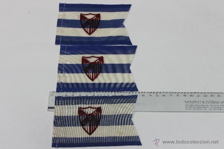 LOTE BANDERINES CLUB DEPORTIVO MALAGA O MARBELLA? ANTIGUOS (Coleccionismo Deportivo - Banderas y Banderines de Fútbol)