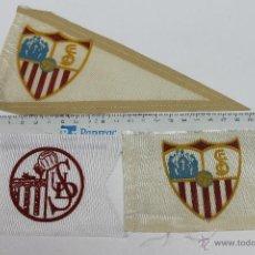 Coleccionismo deportivo: LOTE 3 BANDERINES FUTBOL DEL SEVILLA CLUB ANTIGUOS. Lote 44104194