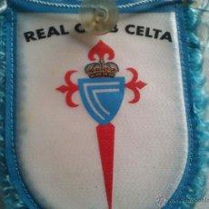 Coleccionismo deportivo: BANDERIN FUTBOL TELA RC CELTA CON VENTOSA. Lote 44491698