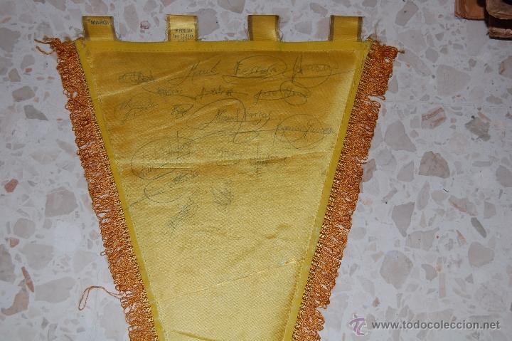 Coleccionismo deportivo: cadiz cf . banderin firmado por jugadores - Foto 3 - 45019879