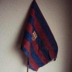 Coleccionismo deportivo: (F-951)BANDERIN DE CORNER ??? C.F.BARCELONA AÑOS 60. Lote 45419088