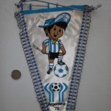 Coleccionismo deportivo: ANTIGUO BANDERIN DEL MUNDIAL DE ARGENTINA 78 - ACOLCHADO. Lote 46499398