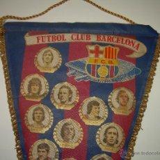 Coleccionismo deportivo: BANDERIN DE TELA........F.C. BARCELONA.. Lote 46953530