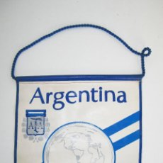 Coleccionismo deportivo: GRAN BANDERIN 30X24CM COPA MUNDIAL FIFA ARGENTINA 78 . Lote 47524674