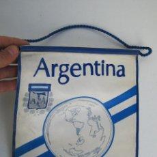 Coleccionismo deportivo: GRAN BANDERIN 30X24CM COPA MUNDIAL FIFA ARGENTINA 78. Lote 47524714