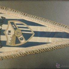 Coleccionismo deportivo: BANDERÍN ORIGINAL DE FUTBOL MALATA TM. CDM. AÑOS 50/60. MEDIDA 35 CM. Lote 47590888
