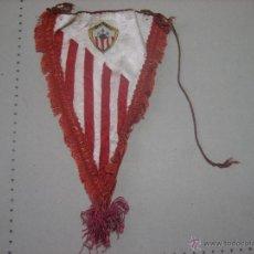 Coleccionismo deportivo: BANDERIN ANTIGUO FUTBOL RIOTINTO BALOMPIE. Lote 47979160