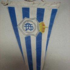 Coleccionismo deportivo: BANDERIN ANTIGUO FUTBOL CLUB RECREATIVO DE HUELVA. Lote 68291323