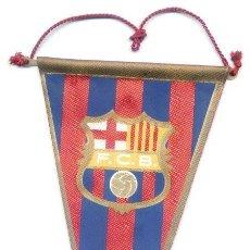 Coleccionismo deportivo: BANDERIN TELA. FC BARCELONA. 12 X 22,5 CM. BARÇA. FUTBOL.. Lote 48926033