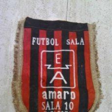Coleccionismo deportivo: ANTIGUO BANDERÍN DE FÚTBOL SALA 10 ZARAGOZA. Lote 48926719