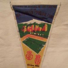 Coleccionismo deportivo: BANDERÍN INAUGURACIÓN ESTADIO FUTBOL LOS CAMPOS DE GRANADA AÑO 1966. Lote 48991270