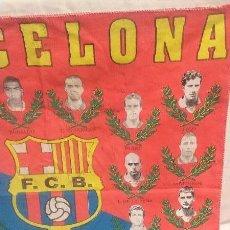 Coleccionismo deportivo: BANDERA PAÑUELO DEL F.C.B. BARCELONA - AÑO 96-97. Lote 49084253