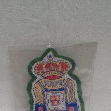 Coleccionismo deportivo: UNION DEPORTIVA LAS PALMAS CLUB DE FUTBOL - ESCUDO DE TELA. Lote 49375942
