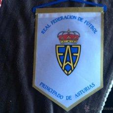 Collectionnisme sportif: BANDERIN FUTBOL REAL FEDERACION DE FUTBOL DEL PRINCIPADO DE ASTURIAS. Lote 49539287